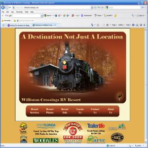 Williston Crossings Web Site